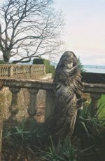 Hebe representing winter, one of the estate�s original statues